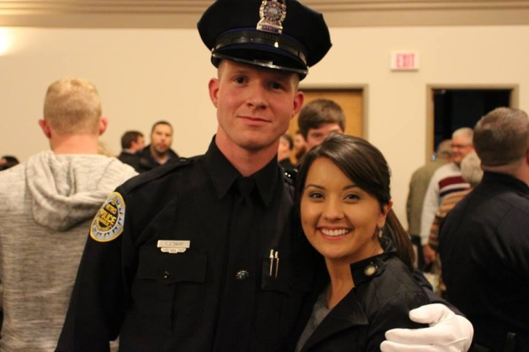 Officer and Mrs. Stewart